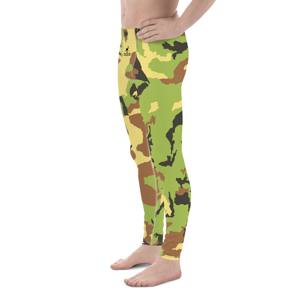 Cocks Camouflage Men's Leggings