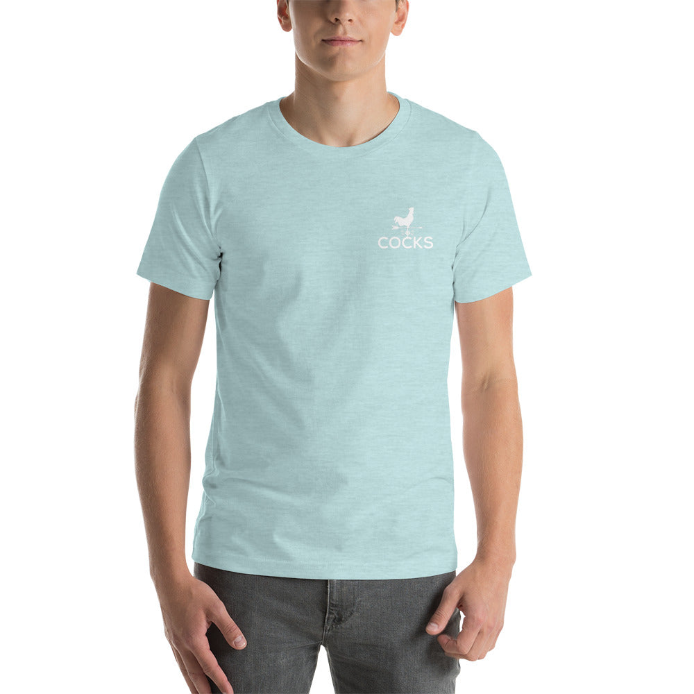 Cocks Embroidered Short-Sleeve T-Shirt
