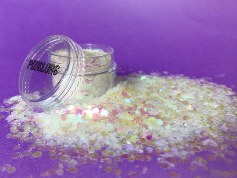 PIXIELURE BODY & FACE GLITTER AURORA 8g JAR
