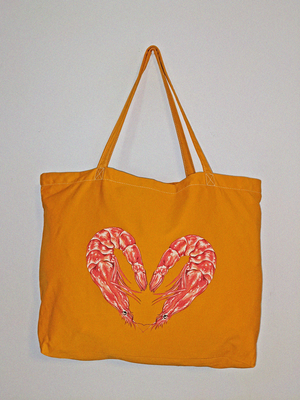 GOLD HEART TOTE