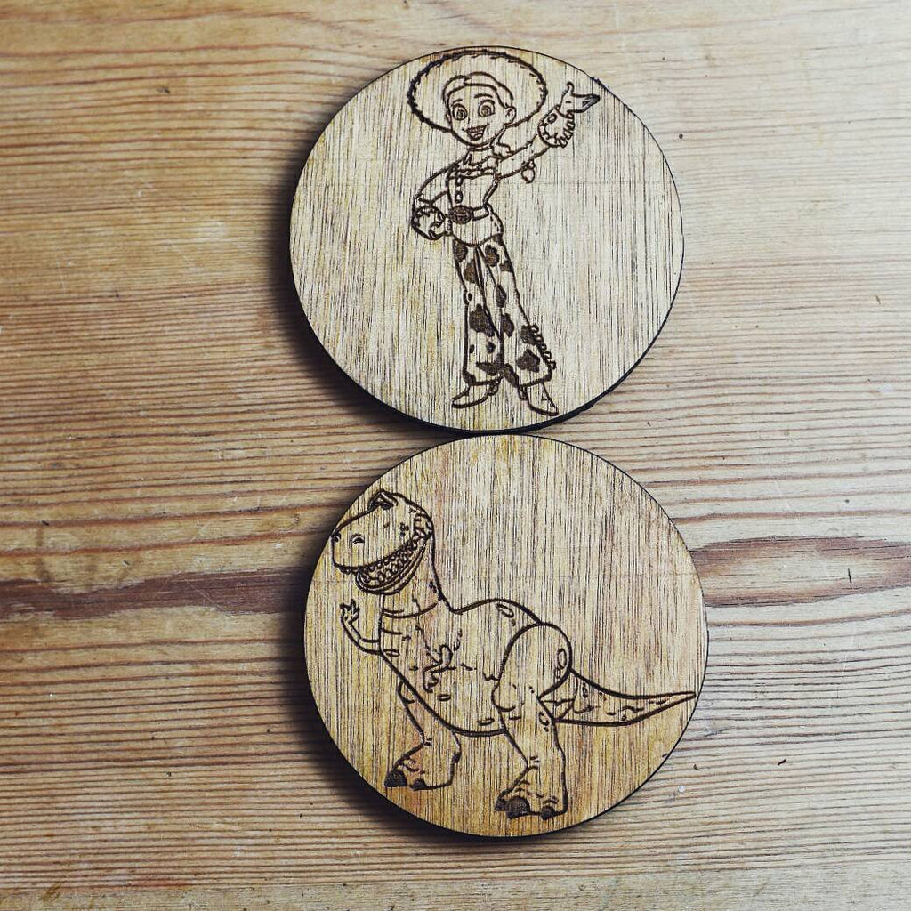 Toy Story Inspired Coasters - HomeCreationss