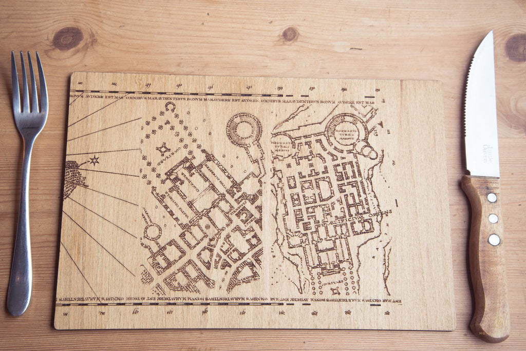 Marauders Map Inspired Place Mats - HomeCreationss