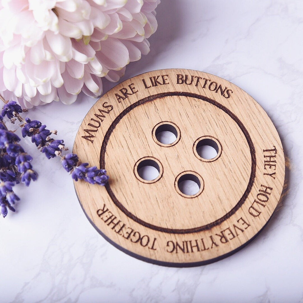 Mums are like buttons Fridge Magnet - HomeCreationss
