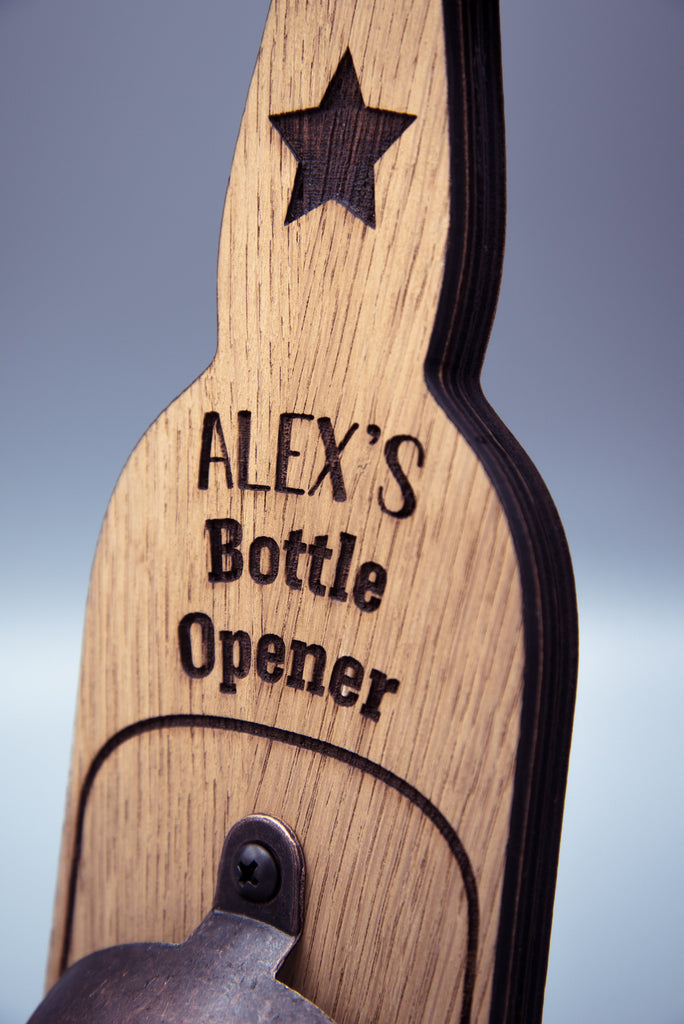 Personalised Bottle Opener | Gift Ideas For Him | New Home Gift | Fathers Day Gift Ideas | Gift For Dad | Man Cave Gift | Gift Ideas For Her