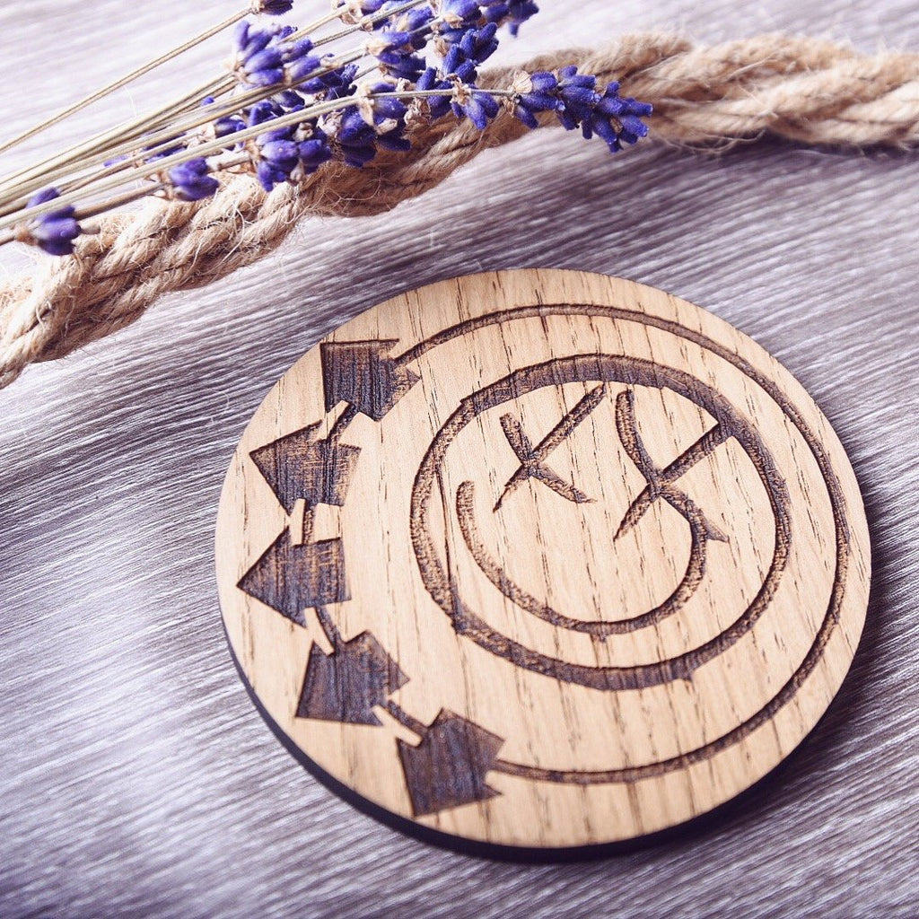 Rock Album Cover Inspired Coasters (Blink 182, Green Day, The Beatles, Sum 41, AC/DC) - HomeCreationss
