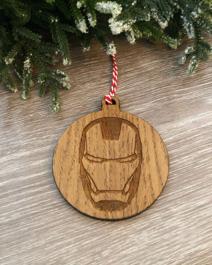 Avengers Inspired Baubles | Iron Man Bauble | Thor Bauble |Marvel Inspired Christmas Gift | Stocking Filler | Marvel Fan Gift | Marvel Comic