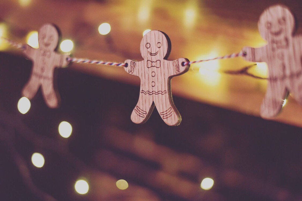 GingerBread Man Bunting | Christmas Decoration For The Home | Gingerbread Themed Decoration | Gingerbread Man Gift Ideas | Secret Santa idea
