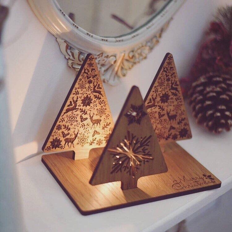 Christmas Tree Candle Holder | Unique & Thoughtful Christmas Gift | Christmas Decoration For The Home | Secret Santa Gift Idea | New Home