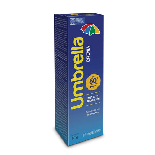 Umbrella FPS50+ Crema 60 gr Medihealth - SKN