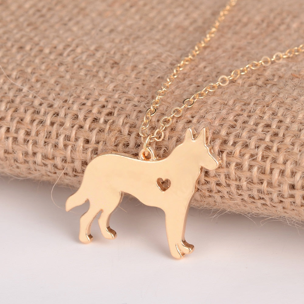 German Shepherd Necklace - K-9 Rescue Shop