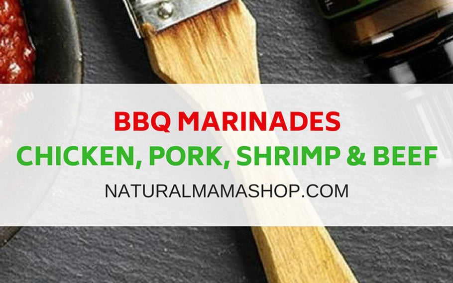 BBQ Marinades for Shrimp, Chicken, Beef and Pork