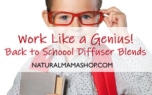 back to school diffuser