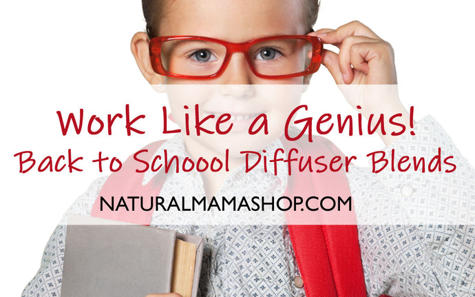 Work Like a Genius | Back to School Diffuser Blends