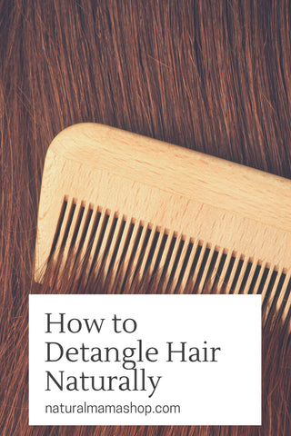 how to detangle hair