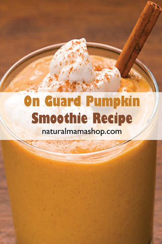On Guard Pumpkin Smoothie Recipe