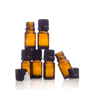 5 mL Amber Bottle 6-pk