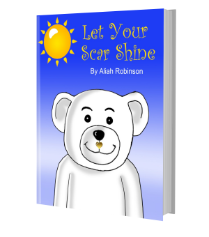 Let Your Scar Shine Book | Cleft Lip and Palate Book