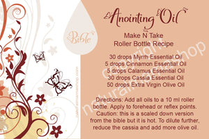 Oils of the Bible Make N Take anointing oil recipe