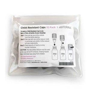 Child Resistant Caps 10-Pack