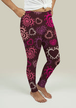 Leggings with Hearts