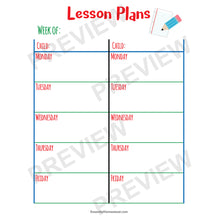 Easy Homeschool Planne lesson plansr