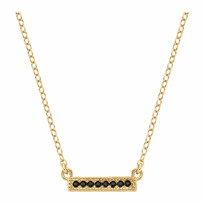 Reversible Horizontal Bar Necklace