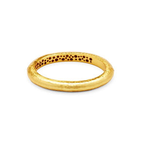 Catalina Hinge Bangle Gold-Julie Vos-Anna Cate Fine Fashion Jewelry