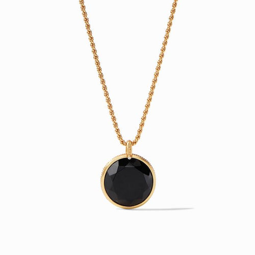 Coin Statement Pendant Black Onyx