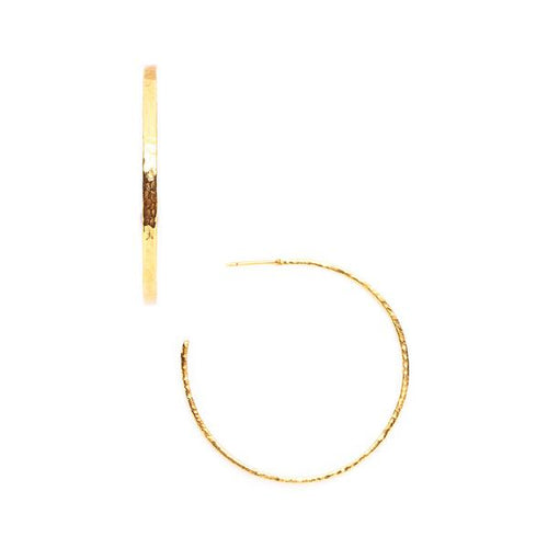 Crescent Hoop Gold Extra Large-Julie Vos-Anna Cate Fine Fashion Jewelry