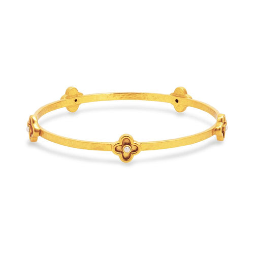 Daphne Bangle Gold Pearl- Small