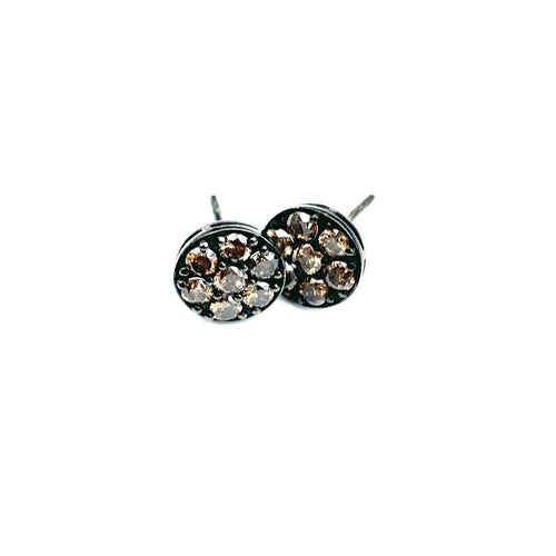 7 Diamond Stud Earrings