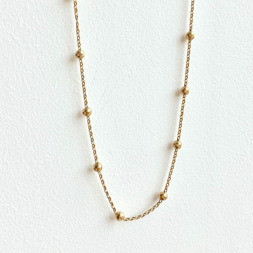 Vermeil Ball Chain
