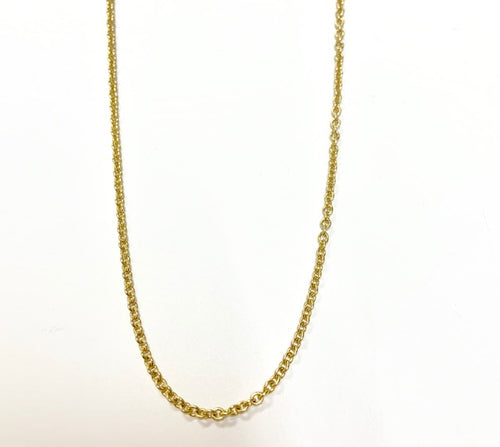 Solid 14kt Yellow Gold 18