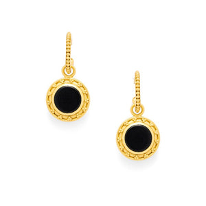 Sofia Earring with Pearl and Black Onyx
