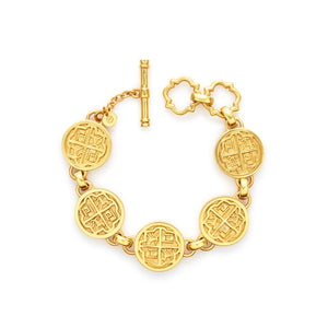 Valencia Bracelet Gold-Julie Vos-Anna Cate Fine Fashion Jewelry