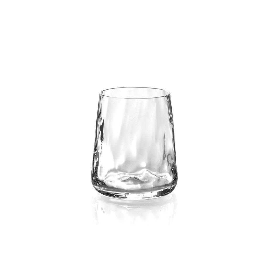 Ripple Effect Double Old Fashion Glass