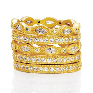 Signature Marquise 5 Stack Ring