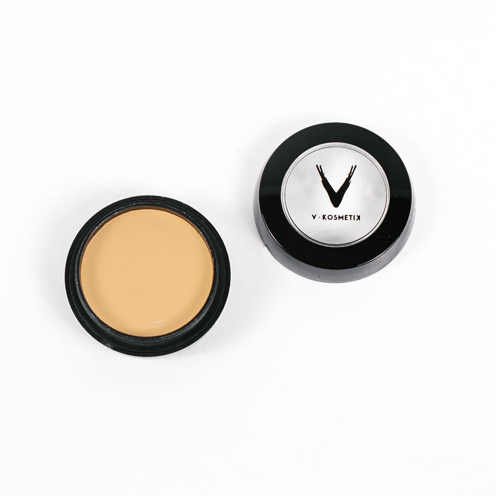Full Coverage Cream Concealer- C4 WARM YELLOW
