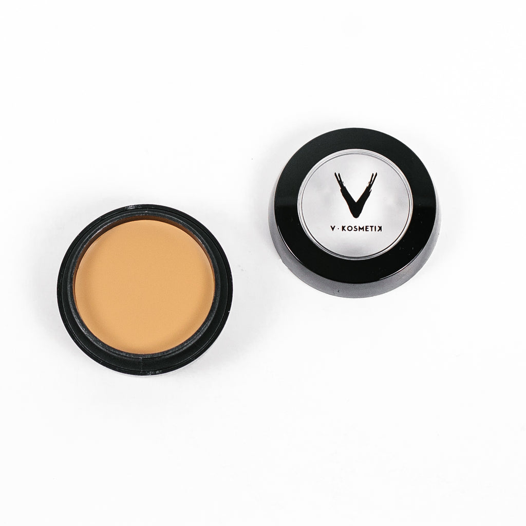 Full Coverage Cream Concealer- C6 WARM YELLOW