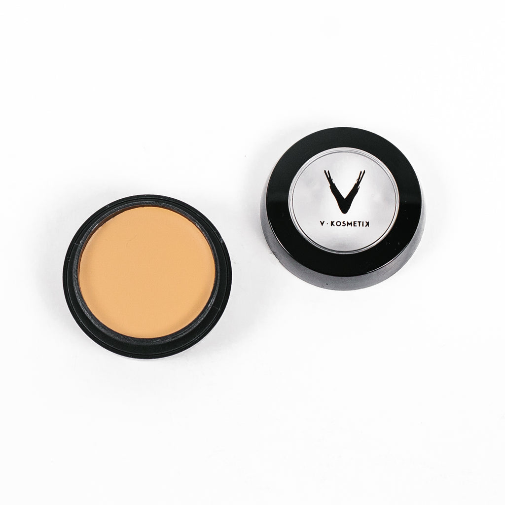 Full Coverage Cream Concealer- C7 WARM YELLOW