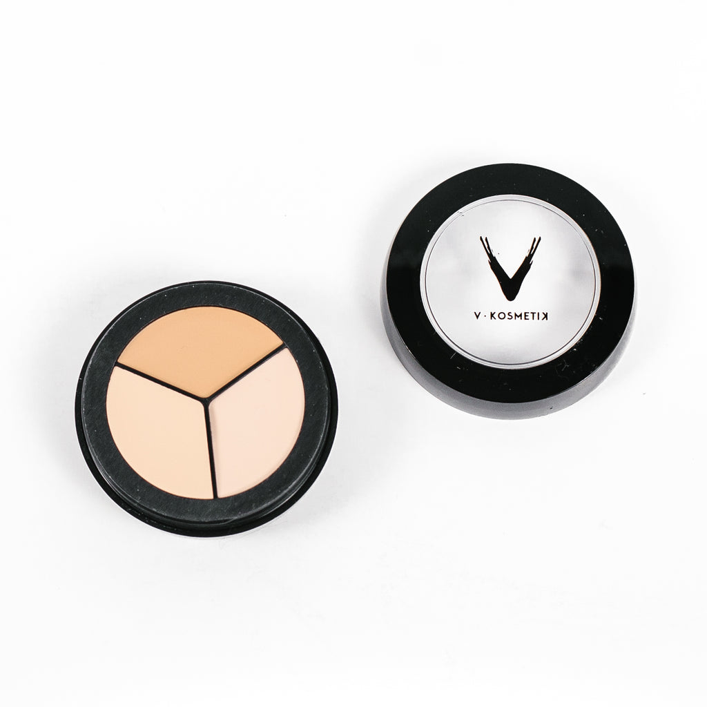 Full Coverage Cream Concealer- TRIO SIBERIAN COLD