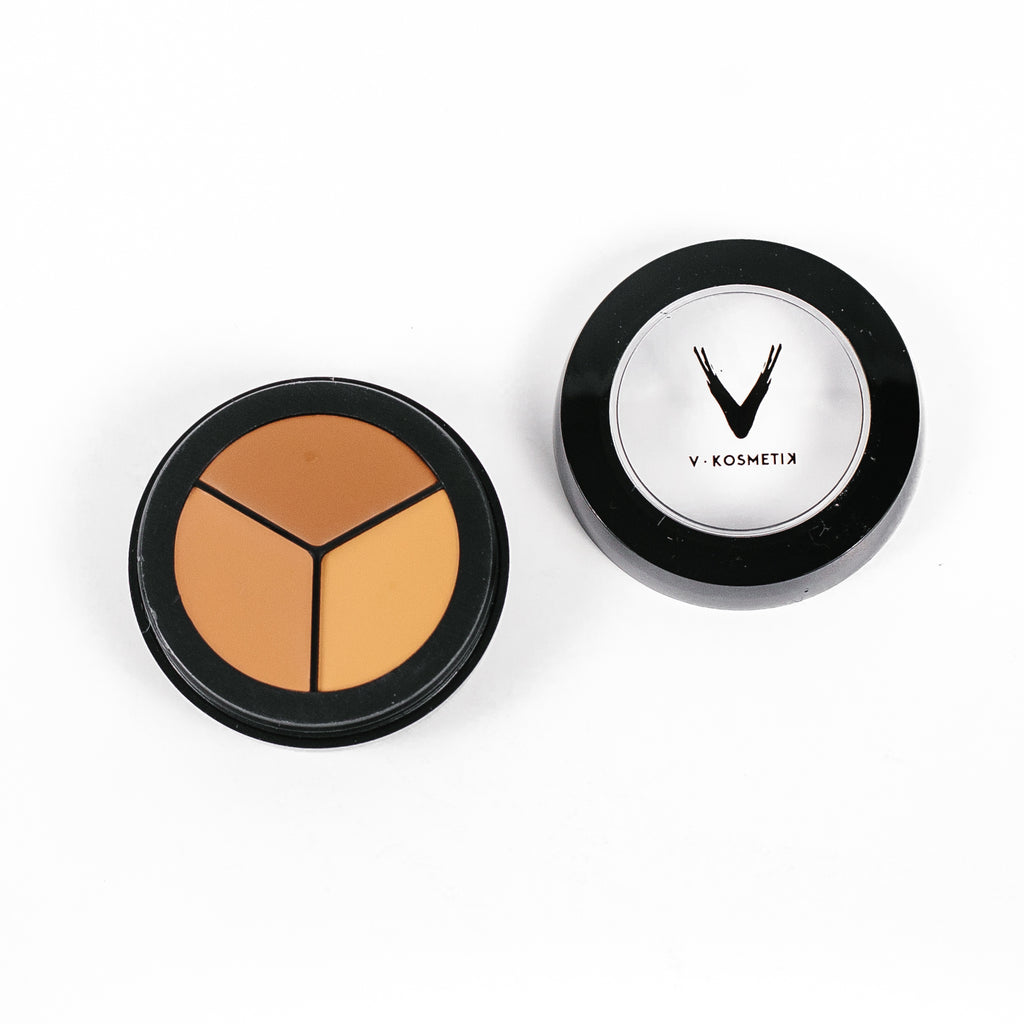 Full Coverage Cream Concealer- TRIO CARIBEAN GLOW