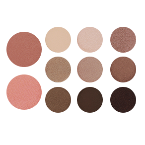 EYESHADOW/BLUSH  PALETTE DEEP AND DELICIOUS