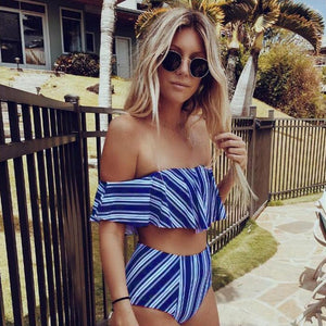 Susan Striped  Bikini