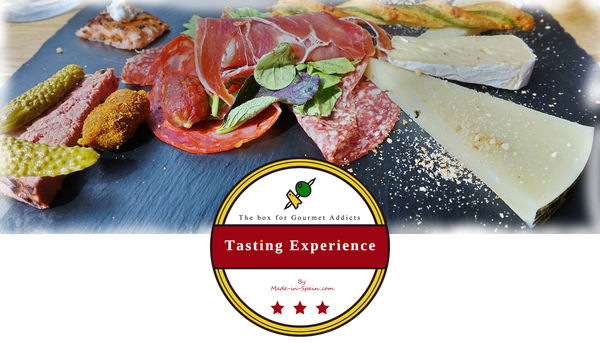 Tasting experience box made in spain