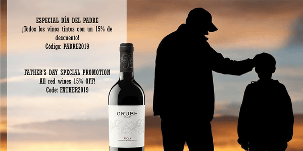 Red wine orube crianza