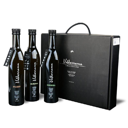 Gift box of oils (3 varieties) of Valderrama