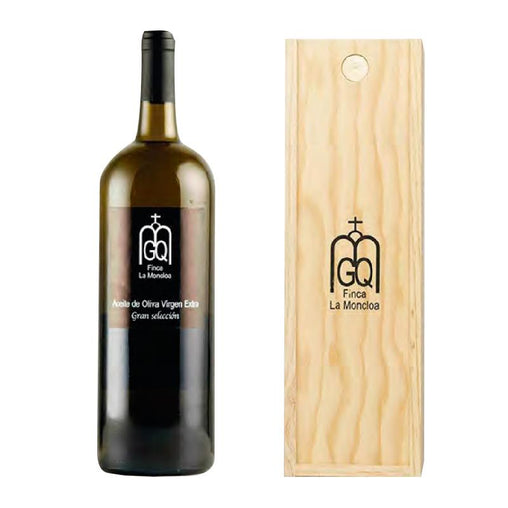 Olive oil Virgen Extra Great Selection Magnum Finca La Moncloa of Oleo Quirós