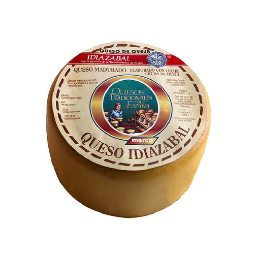Smoked Idiazabal cheese from Merco