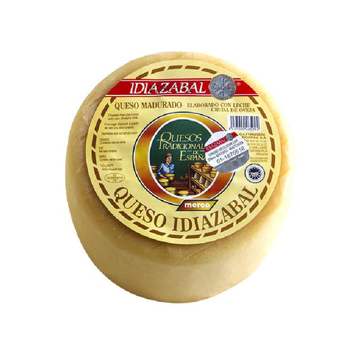 Natural Idiazabal cheese from Merco
